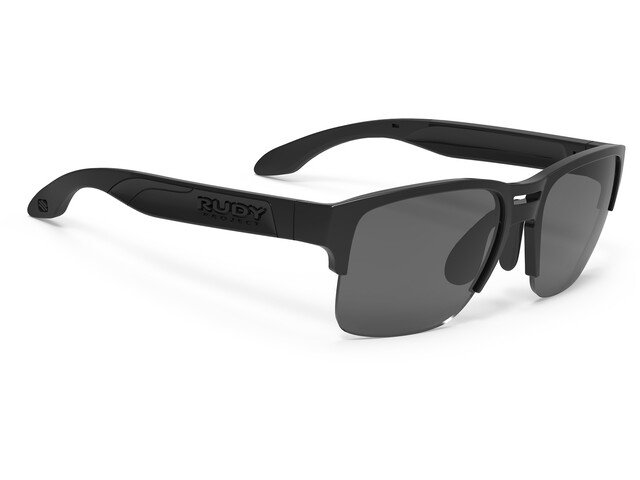 Rudy Project Spinair 58 Sonnenbrille Black Gloss - RP Optics Smoke Black